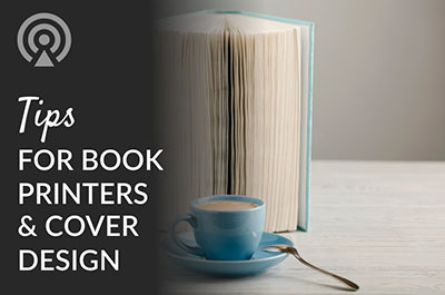 tips for book printers and cover design